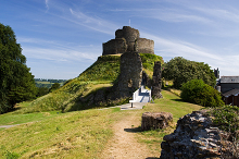 Launceston, The Castle, Cornwall © Mike Searle